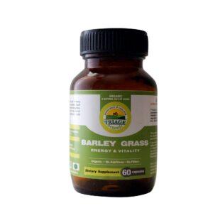barley grass capsules | NosgOrgano