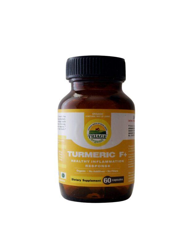 turmeric f+ capsules| NosgOrgano